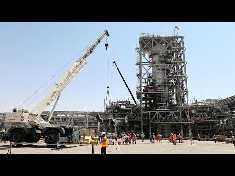 شاهد كيف أصبحت المنشأتين النفطيتين في أرامكو السعودية بعد هجوم السبت