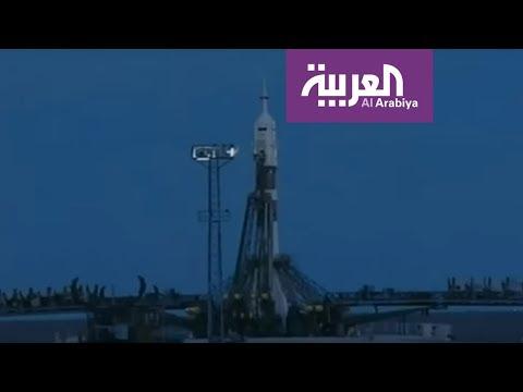 شاهد لحظة انطلاق رحلة أول رائد فضاء إماراتي