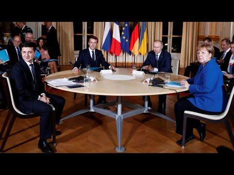 ماكرون يجمع بوتين وزيلينسكي في قمّة مهمة