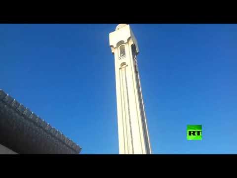 شاهد مساجد دمشق تبث تكبيرات عيد الفطر بدون مصلين