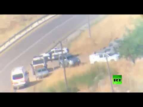 شاهد الجيش الإسرائيلي يقتل فلسطينيًا بدعوى محاولته تنفيذ عملية دهس في الضفة