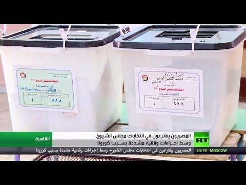 شاهد شاهد بدء عمليات الاقتراع بانتخابات مجلس الشيوخ في مصر