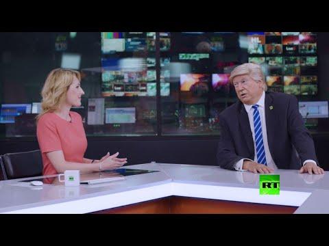 شاهد قناة فضائية روسية تعرض وظيفة على الرئيس الأميركي
