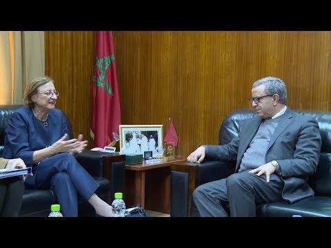 شاهد  مباحثات وزير العدل مع نائبة الأمين العام لمجلس أوروبا
