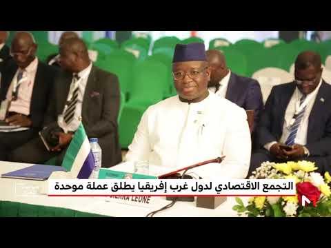 شاهد التجمع الاقتصادي لدول غرب أفريقيا يُطلق عملة موحدة تحت مسمى إيكو
