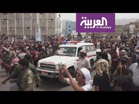 شاهد اشتباكات في أحياء عدن منها كريتر وجبل حديد ومحيط البنك الأهلي