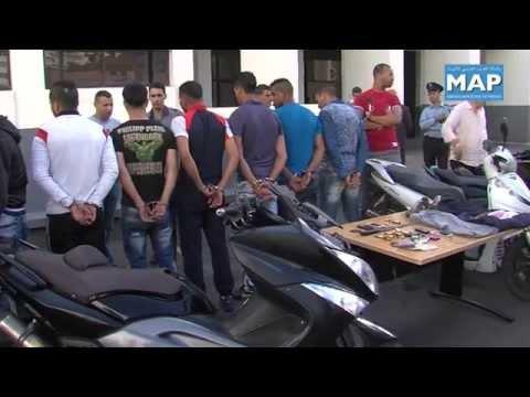 شاهد تفكيك شبكات مُتخصِّصة في السرقة بالشارع العام في الدار البيضاء