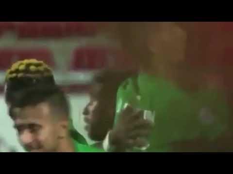 الرجاء المغربي يُسجل هدفًا أمام هلال القدس عبر نغوما