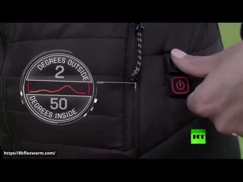 مع المعطف الكهربائي الجديد لم تعد سيبيريا مخيفة في الشتاء