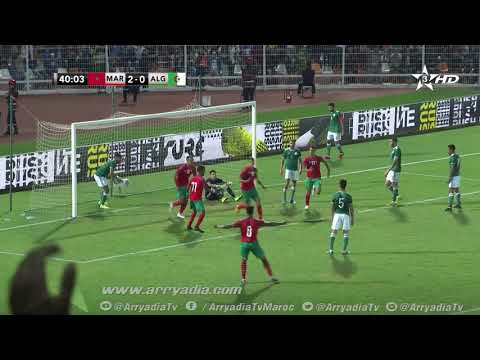 محمد الناهيري يُسجِّل الهدف الثالث للمنتخب المغربي