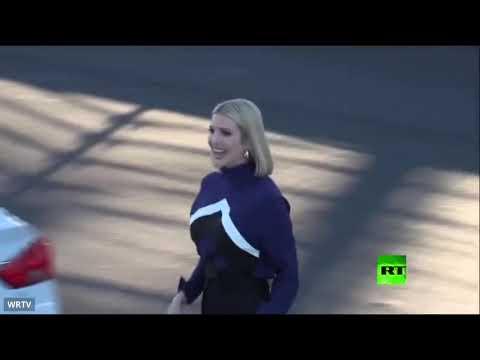 إيفانكا دونالد ترامب تُظهر مهاراتها في سباق السيارات