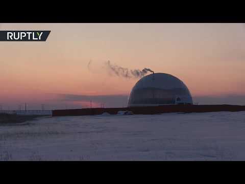 بناء قُبة مقاومة للبرودة فوق منزل لدراسة توفير الطاقة في تجربة روسية فريدة
