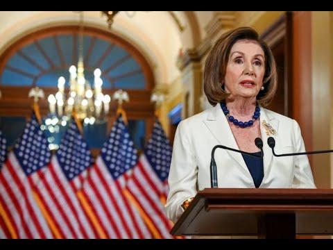 رئيسة الكونغرس الأميركي تطلب صياغة لوائح الاتهام بحق ترامب ضمن إجراءات العزل