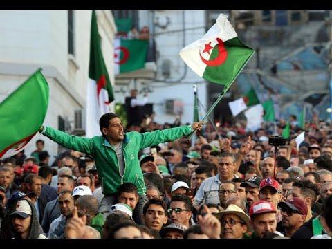 مظاهرات الجمعة الأخيرة قبل الانتخابات الرئاسية في الجزائر