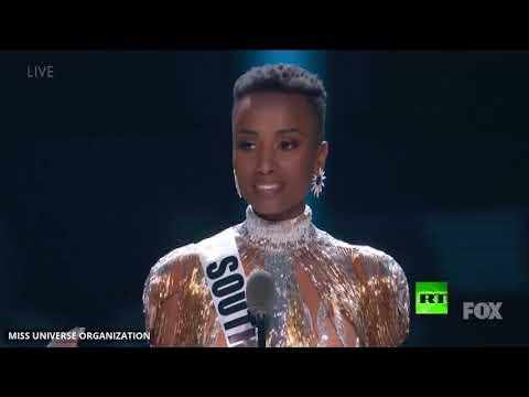 حسناء جنوب أفريقيا تفوز بمسابقة ملكة جمال الكون لعام 2019