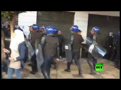 انطلاق مظاهرات رافضة للانتخابات الرئاسية في الجزائر