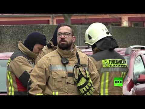 قتيل و25 مصابا على الأقل جراء انفجار غامض شرق ألمانيا
