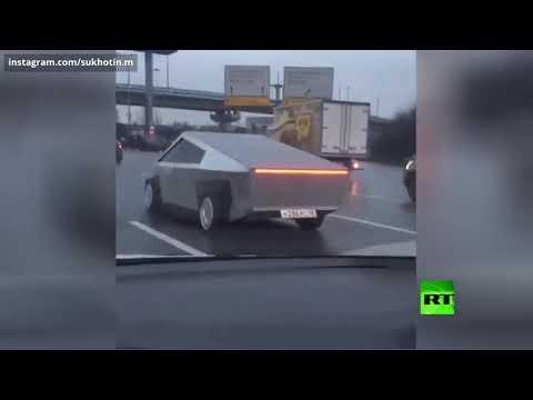 شبان موهوبون في موسكو يستنسخون سيارة تسلا