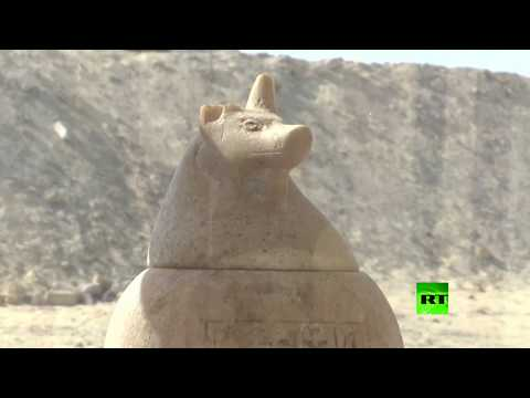 اكتشاف 16مقبرة أثرية في المنيا جنوب مصر