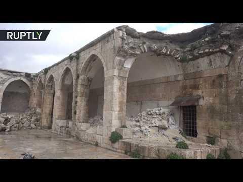 شاهد لقطات من داخل متحف مدينة معرة النعمان