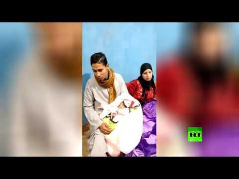 ياسمين رمضان ربيع المولود رقم 100 مليون في مصر