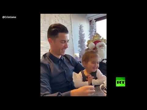 كريستيانو رونالدو ينشر فيديو مُثير مليء بالقبلات مع الأميرة الحلوة