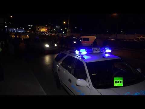 شاهد مقتل شخص وإصابة آخر بانفجار عبوة ناسفة في دمشق
