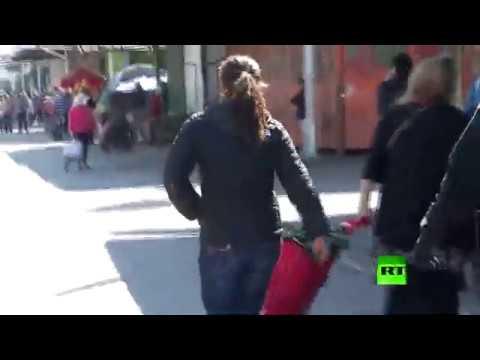 شاهد اعتقال مصابة بـكورونا في تشيلي بعد فرارها من المستشفى