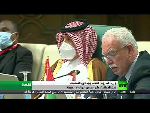 شاهد أبو الغيط  يدعو اللجنة الرباعية الدولية للعمل على استئناف عملية السلام