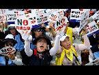 شاهد آلاف الكوريين الجنوبيين يحتجون أمام سفارة اليابان في ذكرى مَن كان يطلق عليهن نساء المتعة