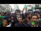 جزائريون يتظاهرون ضد نتائج الانتخابات
